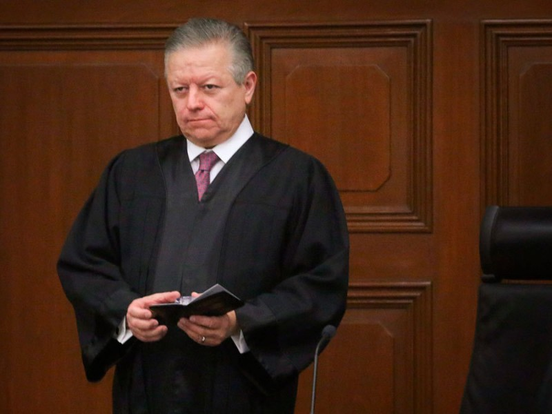 Zaldívar se pronuncia tras aprobación de ley que amplía mando