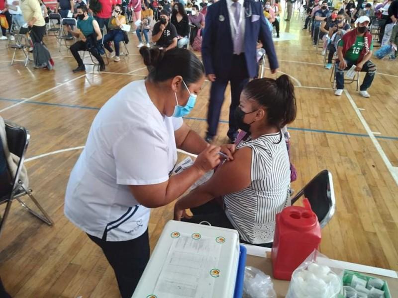 Zamoranos mayores de 30 reciben segunda dosis de vacuna antiCOVID