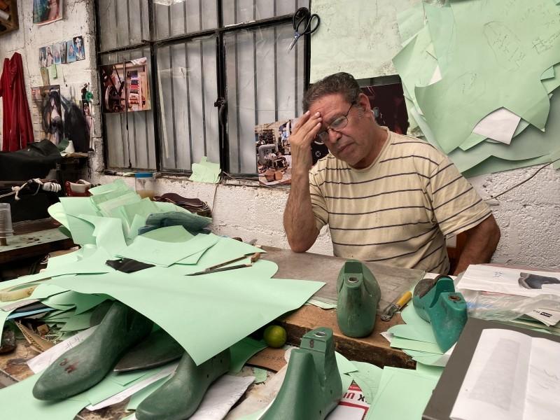 Zapaterías de Naolinco cerraron tras bajas ventas causadas por covid