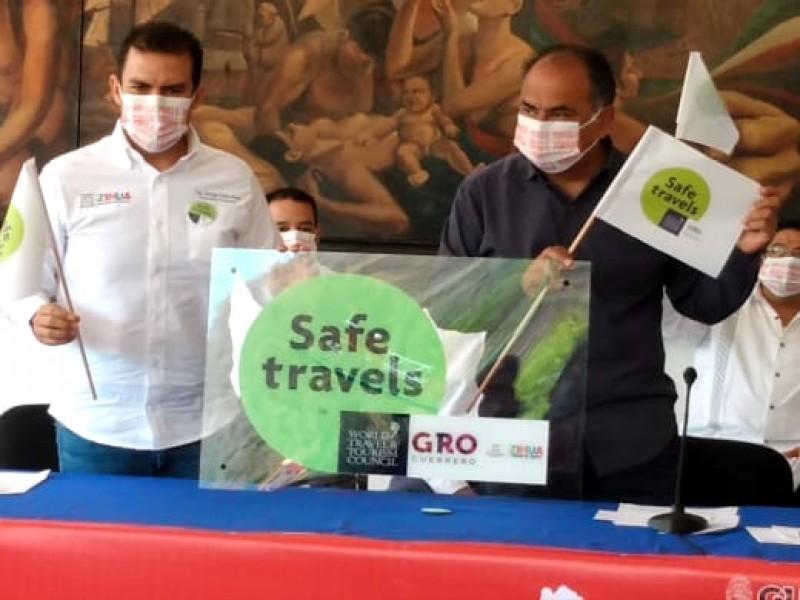 Zihuatanejo recibe galardón Safe Travels por buen manejo de pandemia