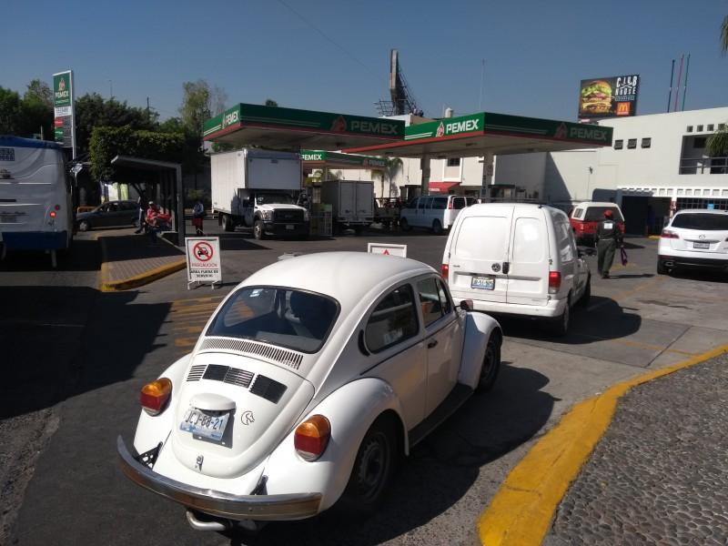 ZMG con abasto del 90% en combustible