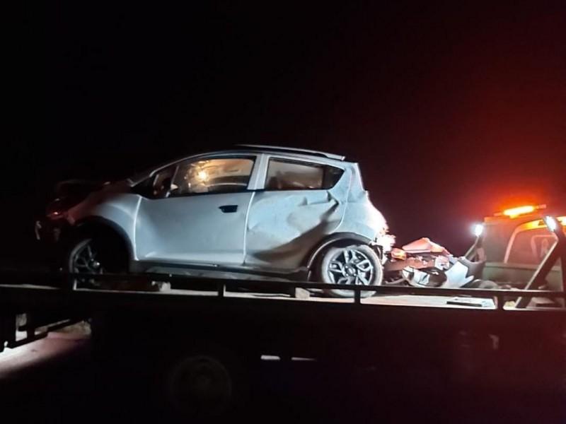 Zoe Robledo sufre accidente automovilístico en Chiapas