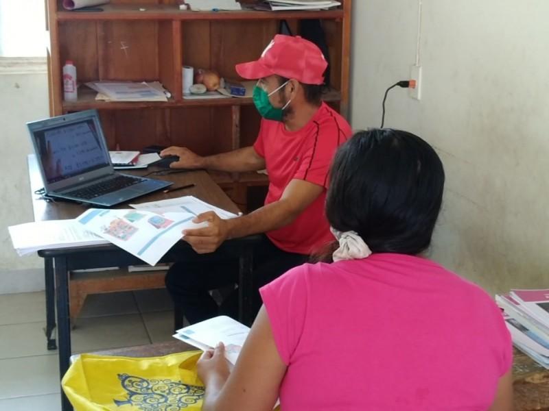 Zona chontal rechaza educación presencial; trabajarán con guías de actividades