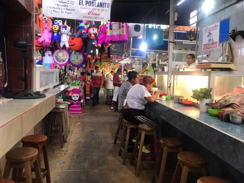 Zona de mercados reactiva su economía en Veracruz