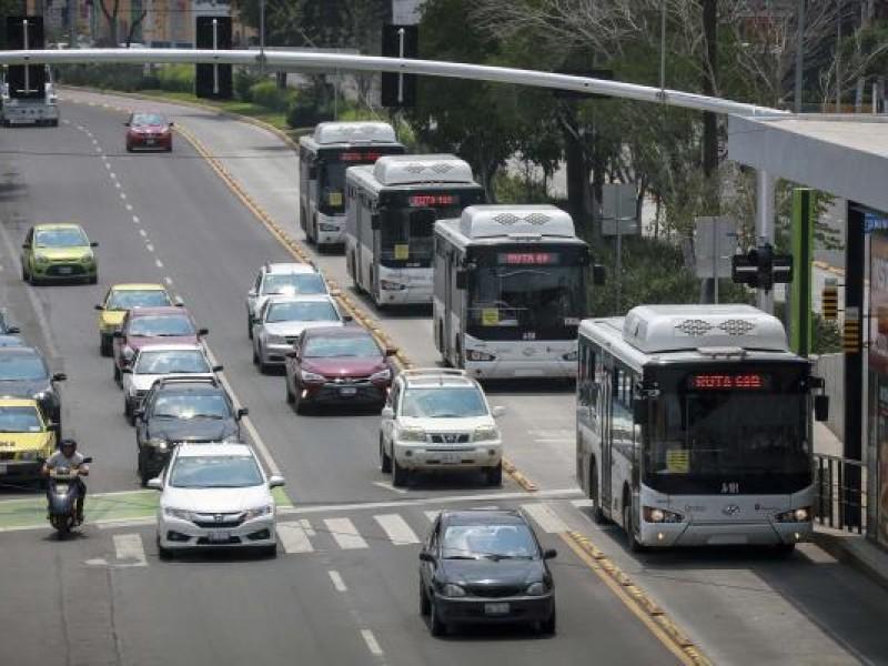 Zona poniente de la capital con mayor incremento en movilidad